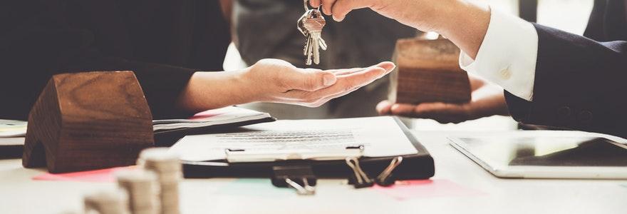 recourir à une agence immobilière